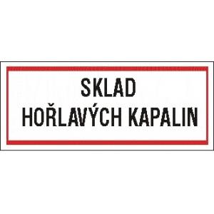 SKLAD HOŘLAVÝCH KAPALIN