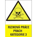 RIZIKOVÁ PRÁCE PRACH KATEGORIE 3