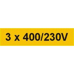 3 x 400/230V