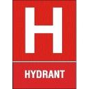 HYDRANT, PIKTOGRAM + TEXT